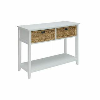 ACME Flavius Console Table - 90262 - White