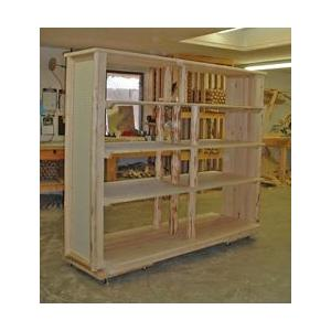 Custom Racks, Displays, Shelves, and Bookcases