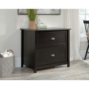 Sauder2-Drawer Lateral File Cabinet in Estate Black