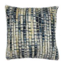 See Details - Sasha Feather Cushion Indigo 20x20