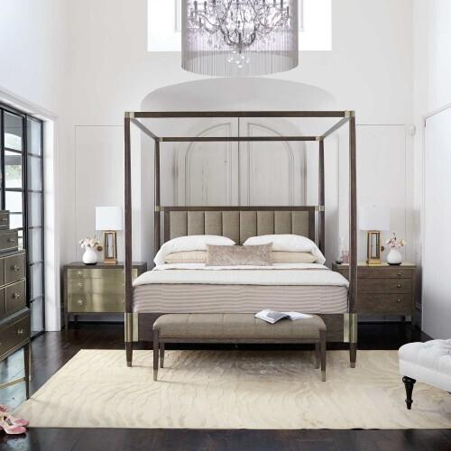 Gallery - King-Sized Clarendon Canopy Bed in Arabica (377)