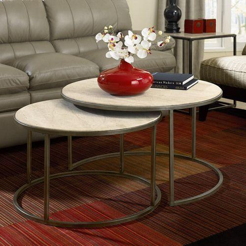 Gallery - Modern Basics Round Cocktail Table