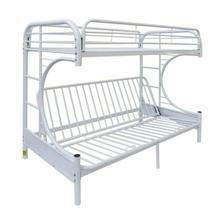ACME Eclipse Twin/Full/Futon Bunk Bed - 02091W-W - White