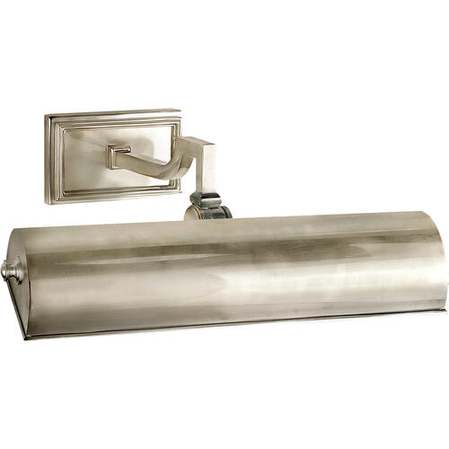 Alexa Hampton Dean 40 watt 14 inch Brushed Nickel Picture Light Wall Light
