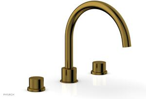 BASIC II Deck Tub Set 230-41 - French Brass Product Image