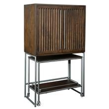 See Details - 695-222 Bar Cart Wine & Bar Cabinet