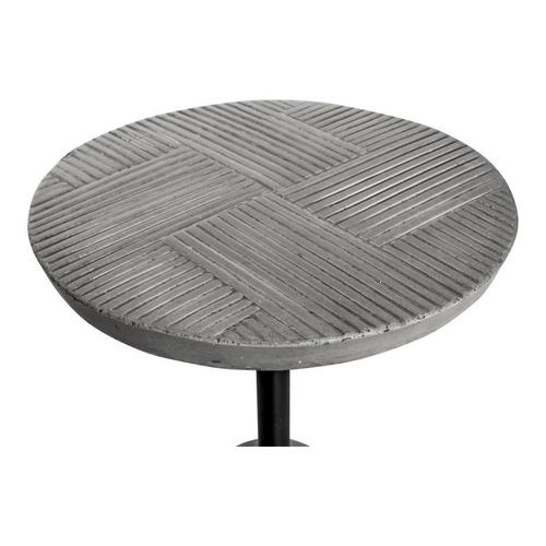 Foundation Outdoor Accent Table Grey