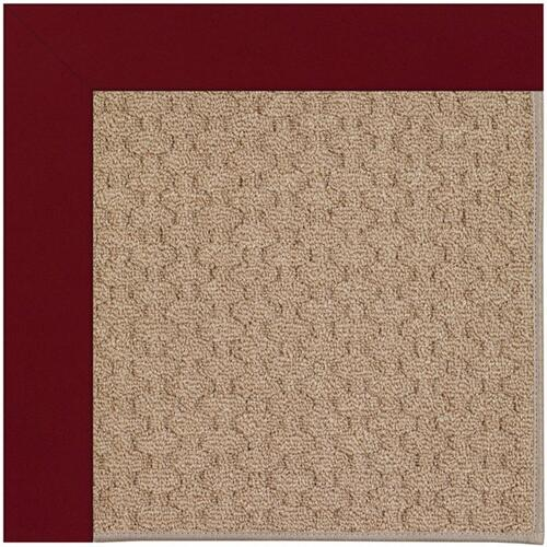 "Creative Concepts-Grassy Mtn. Canvas Burgundy - Rectangle - 24"" x 36"""