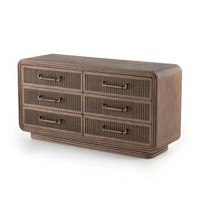 Stark 6 Drawer Dresser-warm Espresso
