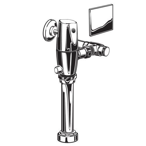American Standard - Exposed Selectronic AC Urinal Flush Valve - 1.0 gpf - Polished Chrome