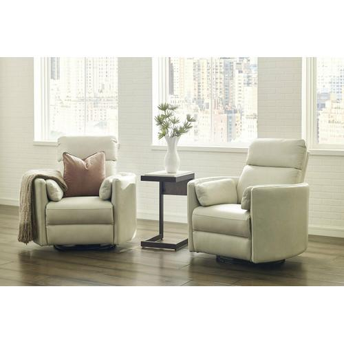 Parker House - RADIUS - FLORENCE IVORY - Powered By FreeMotion Power Cordless Swivel Glider Recliner