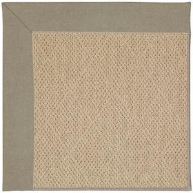 """Creative Concepts-Cane Wicker Canvas Taupe - Rectangle - 24"""" x 36"""""""