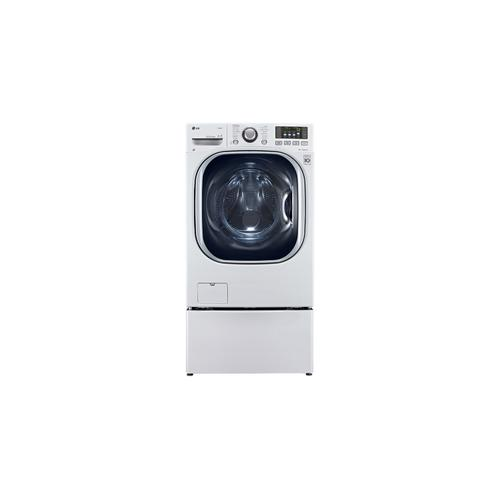 27 Inch, 5.0 CU.FT. Full Size All-in-one Front Load Washer / Dryer Combo With Turbowash and Steam Technology