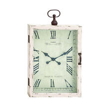 "WD METAL WALL CLOCK 20""W, 34""H"