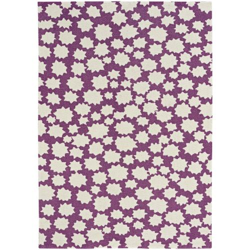 Up In the Air-Stars Violet Machine Woven Rugs
