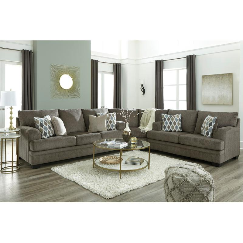 View Product - Dorsten Slate 3 Piece Sectional