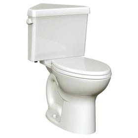 Cadet 3 Right Height Corner Toilet - 1.6 GPF - Linen