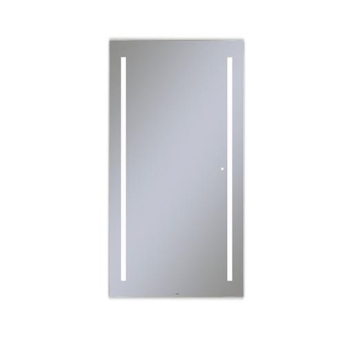 """Aio 35-1/8"""" X 69-7/8"""" X 1-1/2"""" Full Length Lighted Mirror With Lum Lighting At 4000 Kelvin Temperature (cool Light), Dimmable and Usb Charging Ports"""