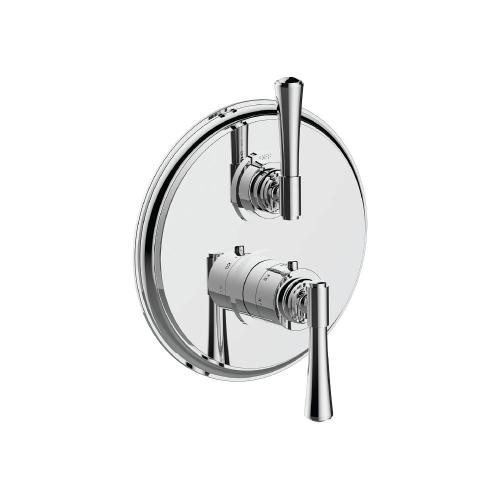 "7095ha-tm - 1/2"" Thermostatic Trim With Volume Control in Matte Black"