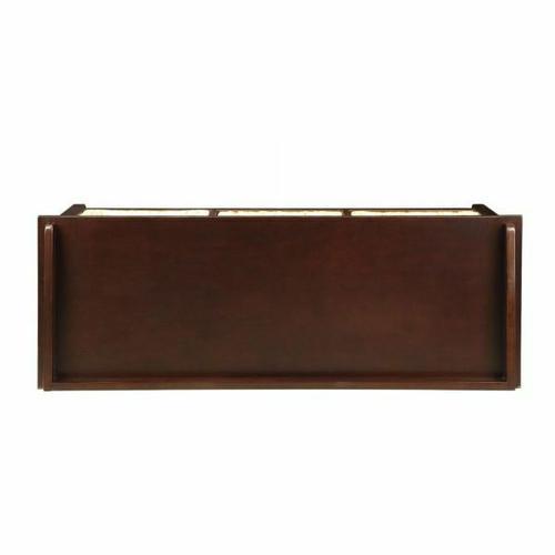 ACME Flavius Bench w/Storage - 96762 - Espresso