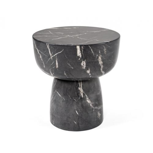 Gallery - Modrest Mitch - Modern Faux Marble Large End Table