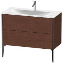 View Product - Vanity Unit Floorstanding, American Walnut (real Wood Veneer)