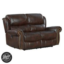 Hyde Park Loveseat  Tobacco