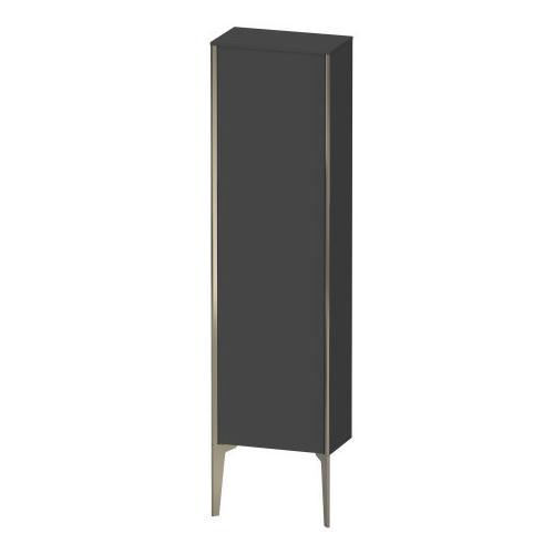 Duravit - Semi-tall Cabinet Floorstanding, Graphite Matte (decor)