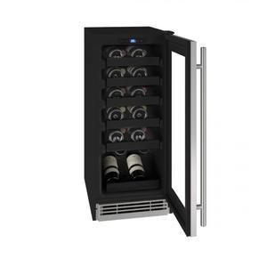 "U-LineHwc115 15"" Wine Refrigerator With Stainless Frame Finish (115v/60 Hz Volts /60 Hz Hz)"