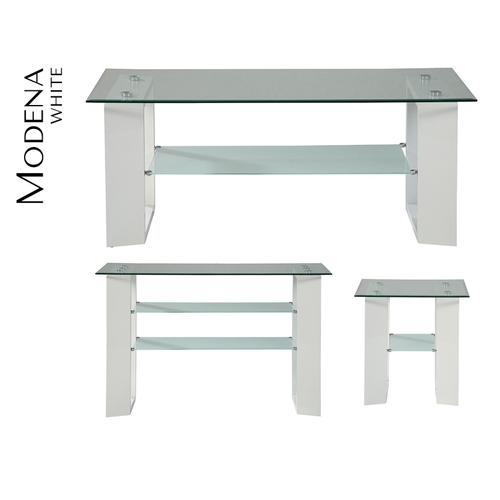 Modena Sofa Table - White