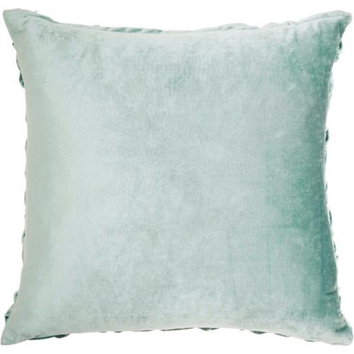"""Life Styles L0064 Celadon 22"""" X 22"""" Throw Pillow"""