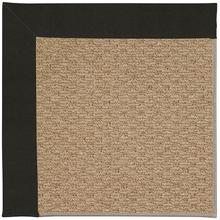Creative Concepts-Raffia Canvas Black Machine Tufted Rugs