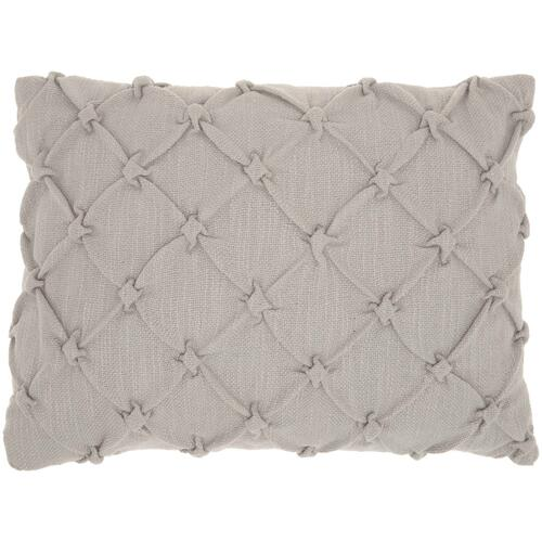 "Kathy Ireland Pillow Aa242 Grey 14"" X 20"" Throw Pillow"