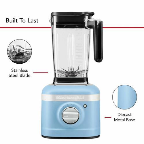 KitchenAid - K400 Variable Speed Blender with Tamper - Blue Velvet