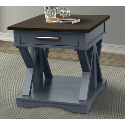 AMERICANA MODERN - DENIM End Table