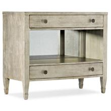 Bedroom Sanctuary Gemme Two Drawer Nightstand