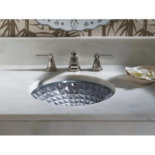 Translucent Sapphire Undermount Bathroom Sink