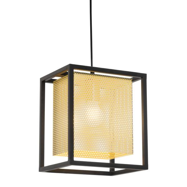See Details - Yves Ceiling Lamp Gold & Black