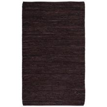 Lariat Chocolate - Rectangle - 4' x 6'