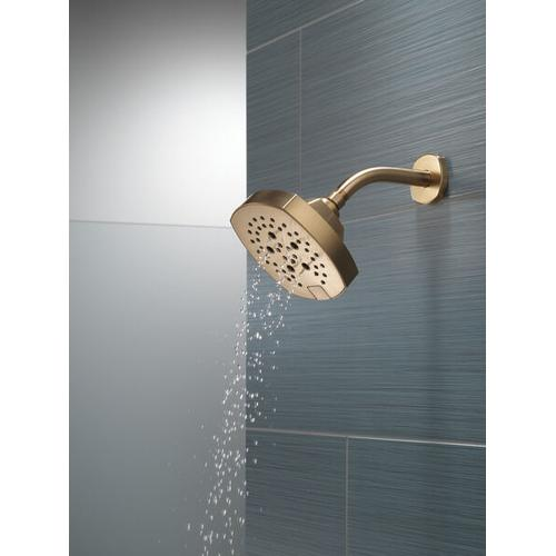 Champagne Bronze 5-Setting H 2 Okinetic Shower Head