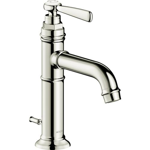 AXOR - Polished Nickel Single-Hole Faucet 100 with Pop-Up Drain, 1.2 GPM