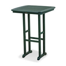 "Green Nautical 31"" Bar Table"