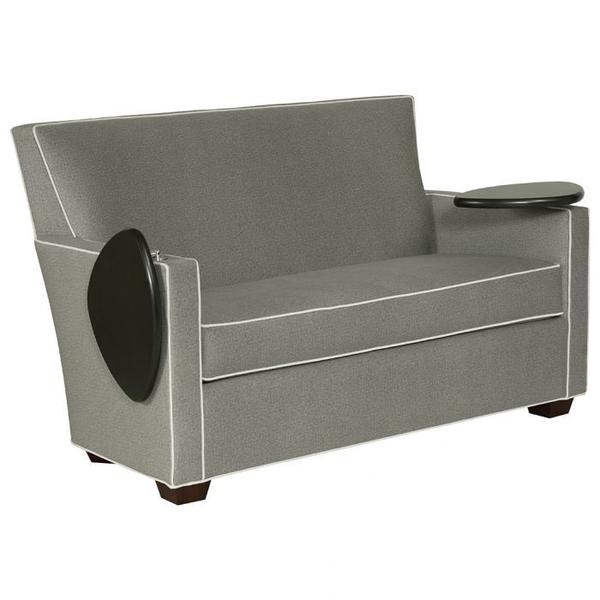 See Details - Craven Loveseat with Folding Tablet