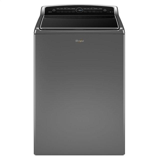 Whirlpool 5.3 cu.ft HE Top Load Washer with ColorLast , Intuitive Touch Controls
