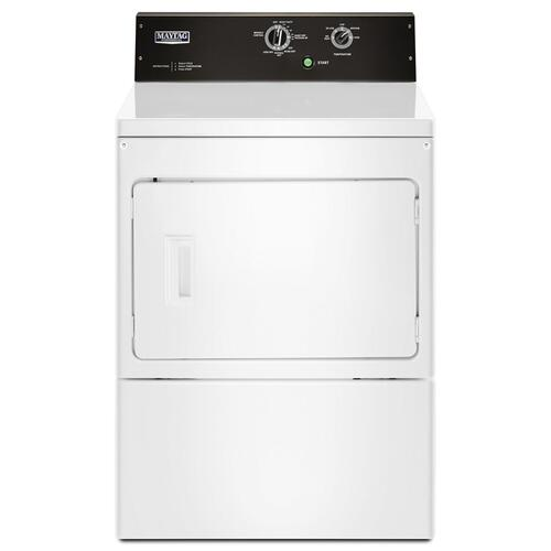 Maytag Commercial - 7.4 cu. ft. Commercial-Grade Residential Electric Dryer White