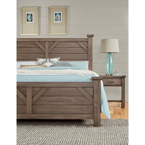 Queen Plank Headboard and Footboard
