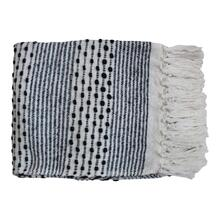 Harrison Throw Grey Blue