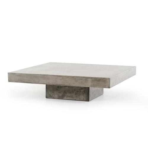 VIG Furniture - Modrest Morley Modern Concrete Coffee Table