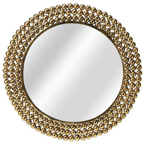 Butler Specialty Company - This antique gold mirror will stylishly enhance your space. Featuring a modern loft aesthetic, it is hand crafted from iron, mdf, mirrored glass.