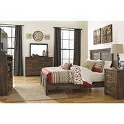 Quinden - Dark Brown 7 Piece Bedroom Set Product Image